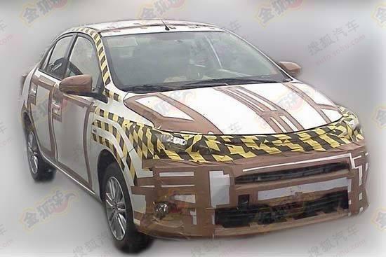 SpyShot All New Toyota Vios 2013 di China